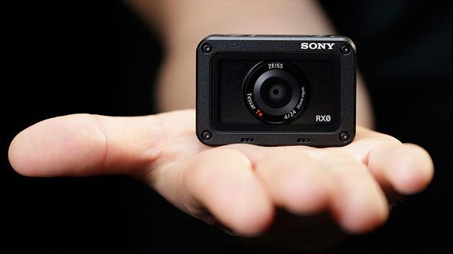سوني تكشف عن كاميرة رياضية RX0 بجودة 4K