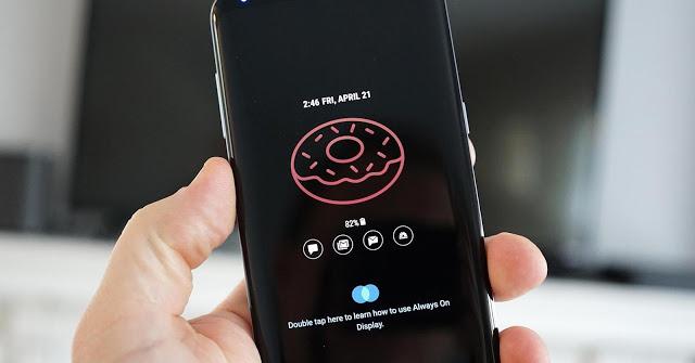 الآن أصبح بإمكان شاشة العرض الدائم من سامسونج عرض صور GIF