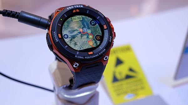 كازيو تكشف عن سمارتواتش برو تريك مع نظام تحديد المواقع GPS مدمج