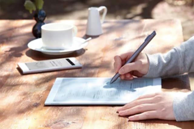 شركة سوني تعلن عن إصدار أصغر للكمبيوتر اللوحي العملاق Digital Paper E Ink