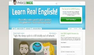 تعلم اللغة الإنجليزية المجانية من Phrasemix